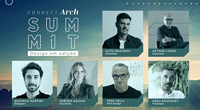 Connect Arch Summit reúne grandes nomes do design e da arquitetura